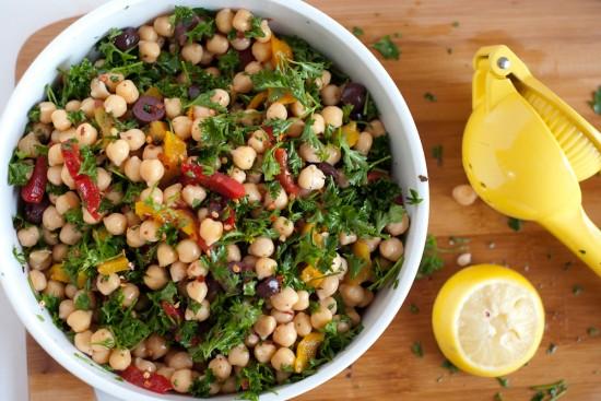 Chickpea Salad.
