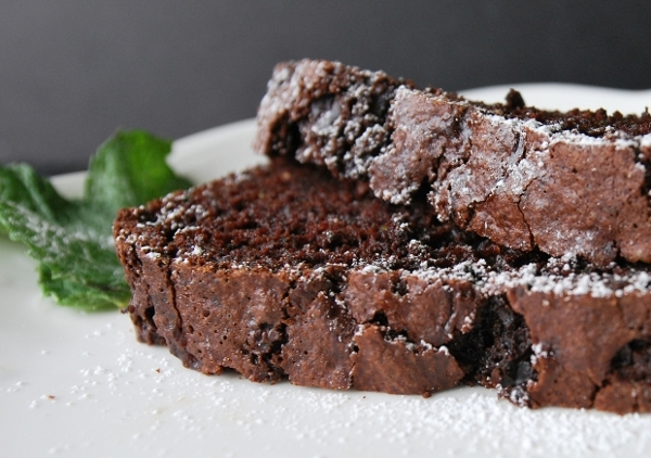 Chocolate Zucchini Bread.
