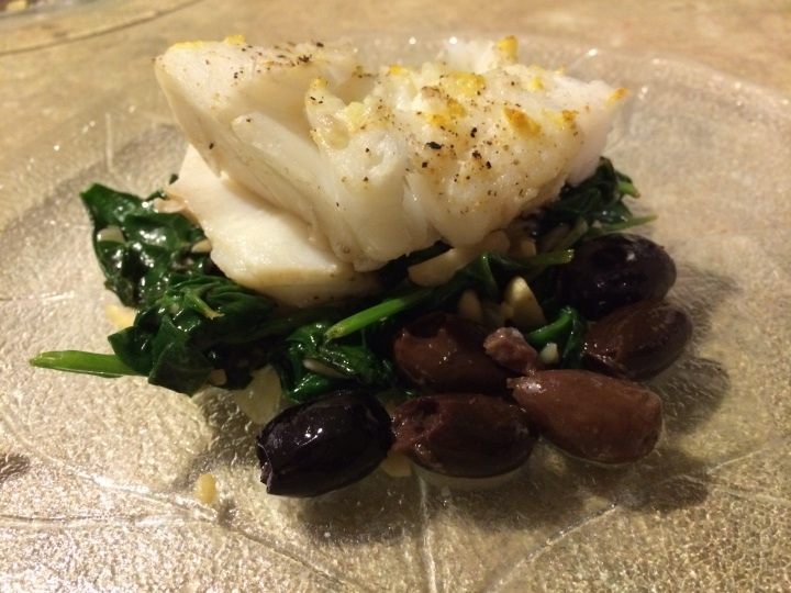 The Pittsburgh Food Diaries: Roasted Pacific Cod.