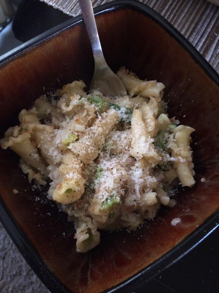 Blue Apron: Baked Fontina Pasta.