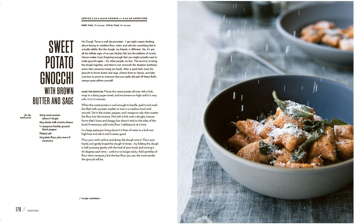 Sweet Potato Gnocchi With Brown Butter And Sage Tiny Tales